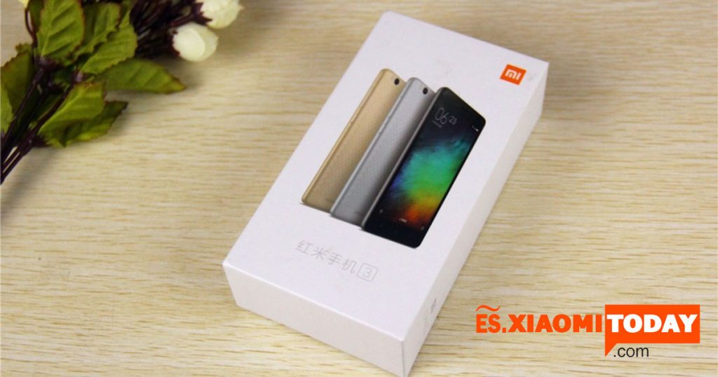 Redmi 3 box