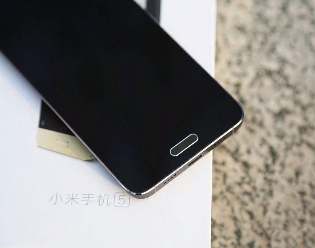 Xiaomi MI 5 diseño