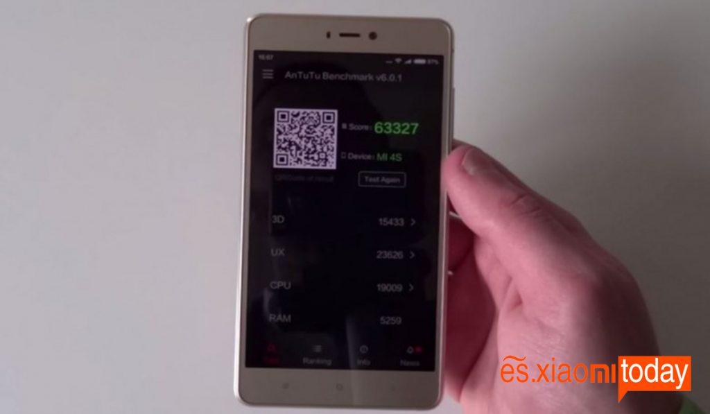 4S Test 2 Xiaomi Mi 4S