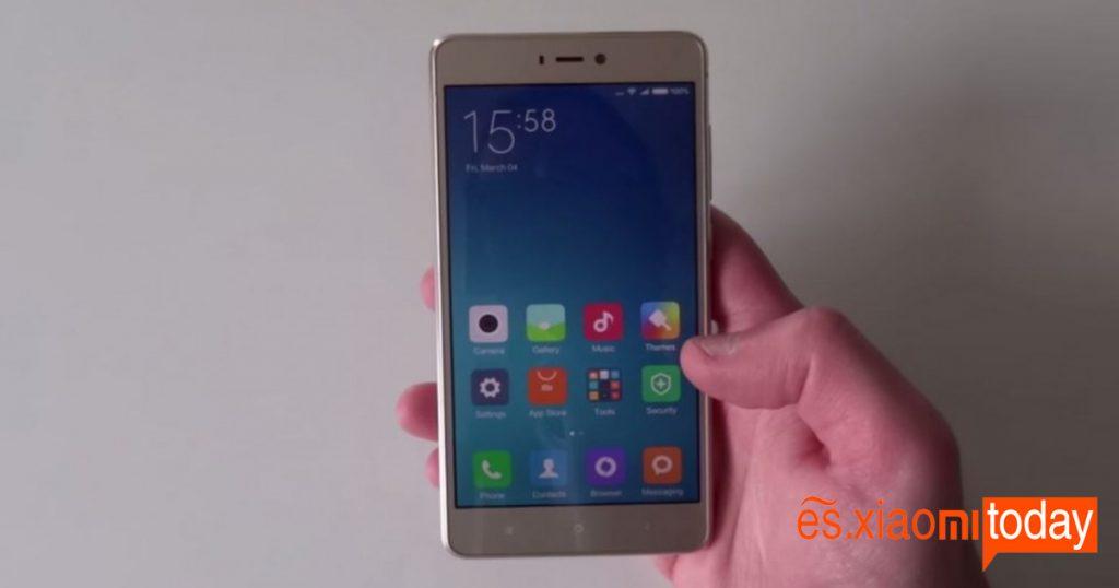 OS Xiaomi Mi 4S