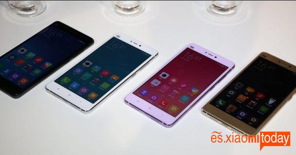 colors Xiaomi Mi 4S