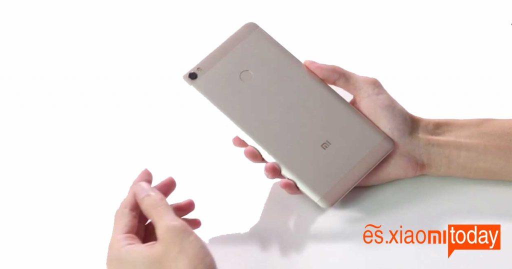 Back Xiaomi Mi Max