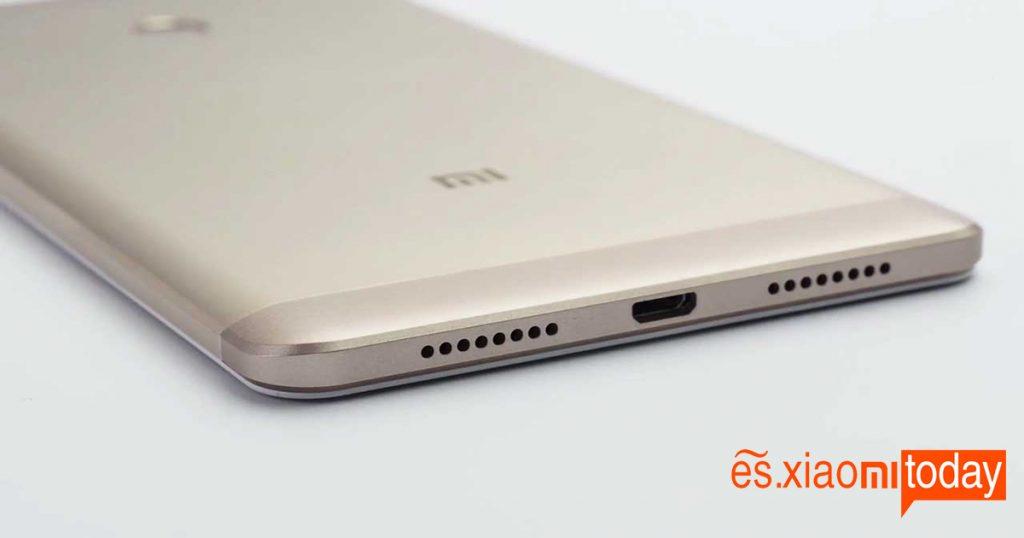 bottom Xiaomi Mi Max