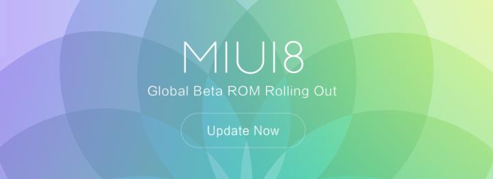 Beta Global del ROM MIUI 8 v6.9.29