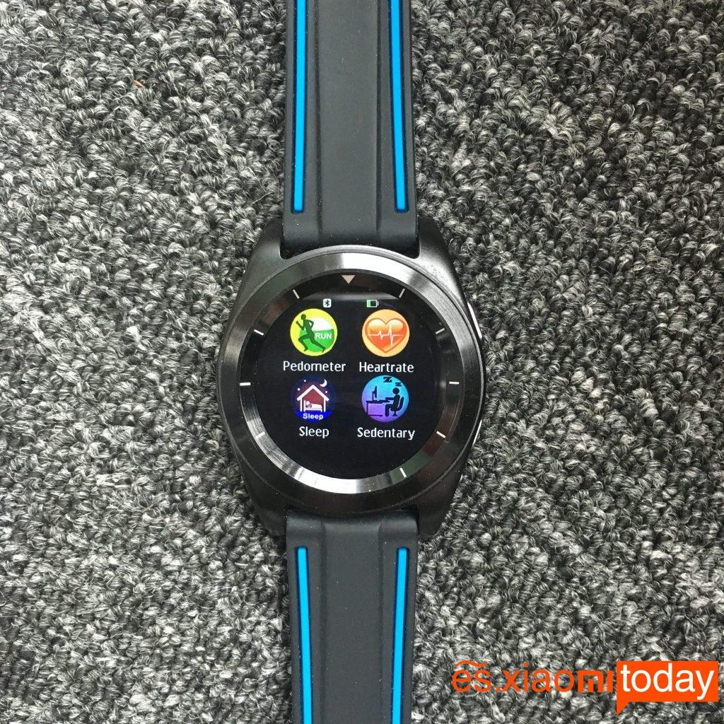 No.1 G6 Smartwatch funciones de salud