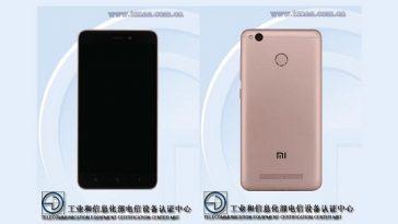 Xiaomi 2016111 y 2016112 avistados en Tenaa