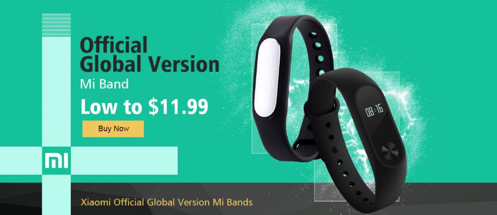Xiaomi Mi Band promoción