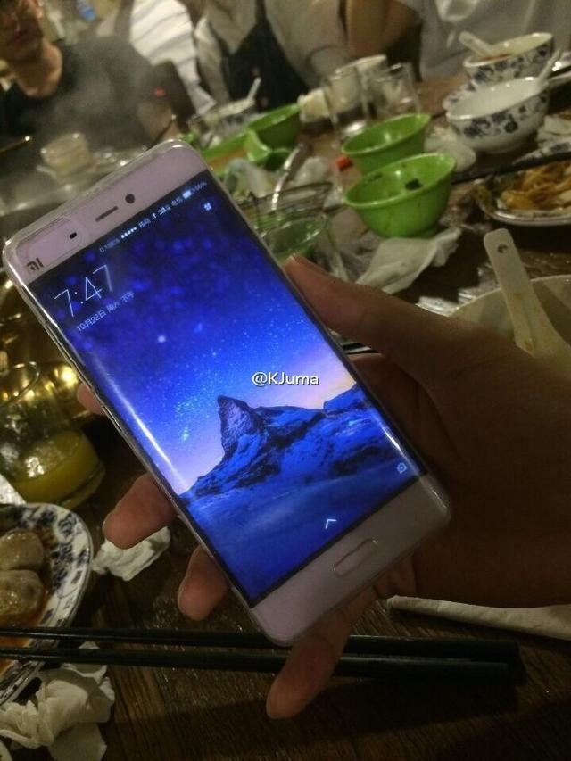 Xiaomi Mi Note 2 en público