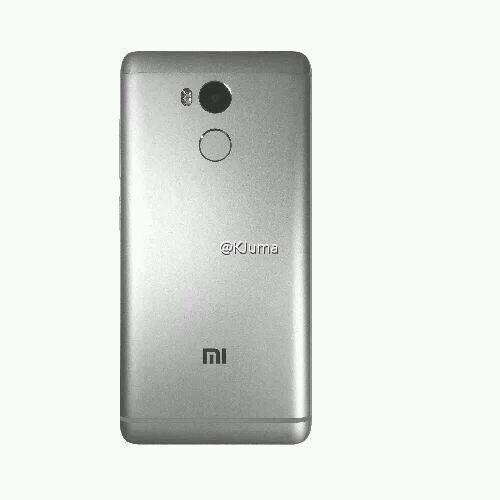 Xiaomi Redmi 4 parte posterior