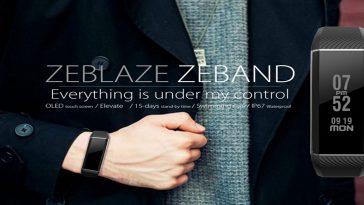 Zeblaze ZeBand BLE 4.0 1