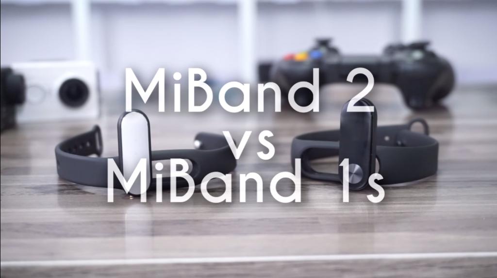 Xiaomi Mi Band 1S Vs Xiaomi Mi Band 2