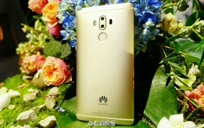 Huawei Mate 9: Parte posterior filtrada