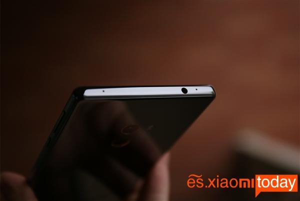 Xiaomi Mi Mix parte superior