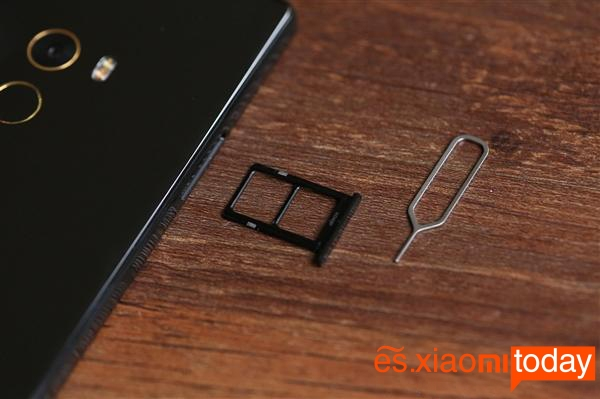 Xiaomi Mi Mix ranura de trajetas sim