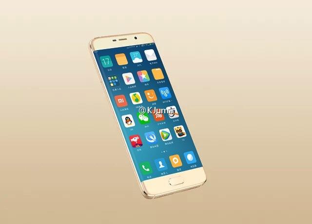 Xiaomi Mi Note 2 nuevo render