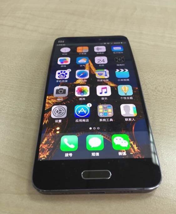Xiaomi Mi Note 2 cuerpo flexible