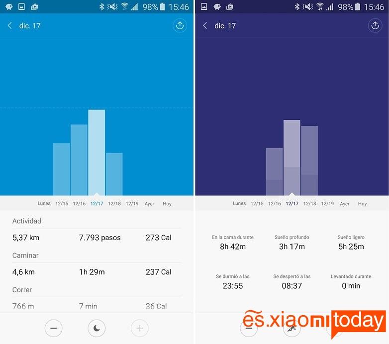 Xiaomi Mi Band 1S 7