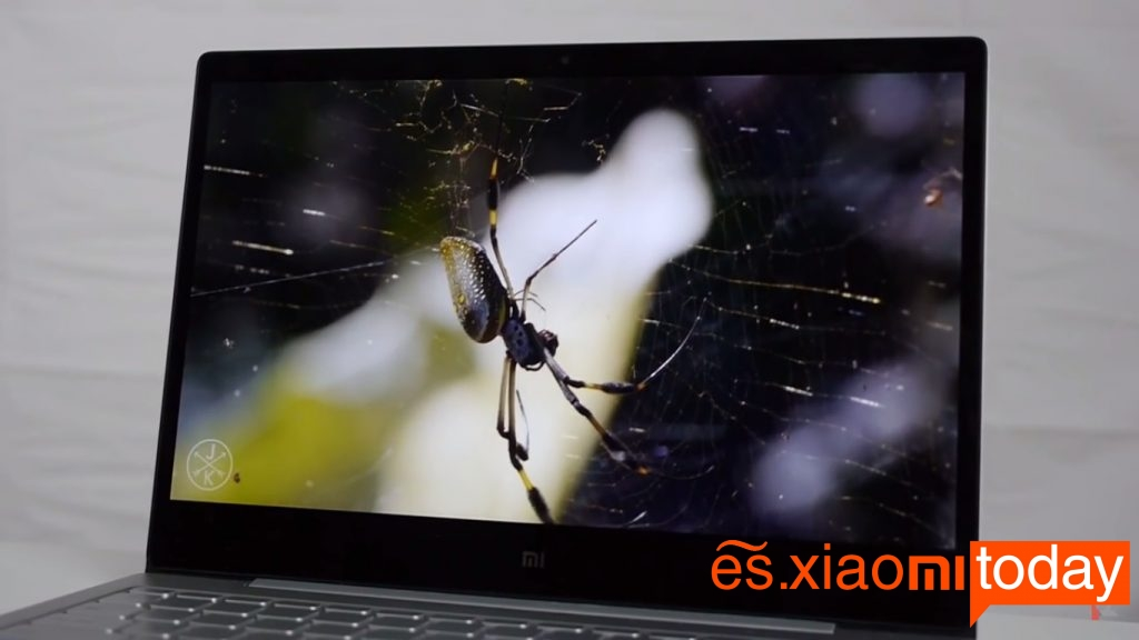 Xiaomi Air pantalla