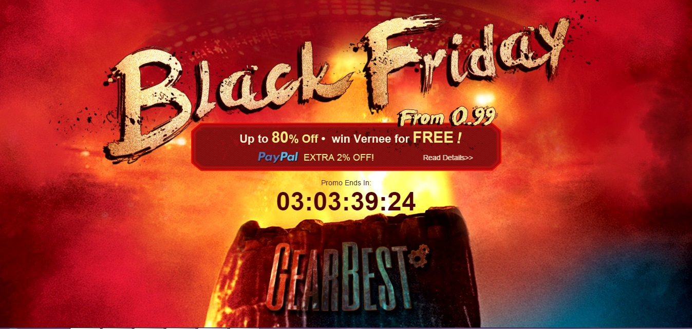 Gearbest Black Friday Ofertas