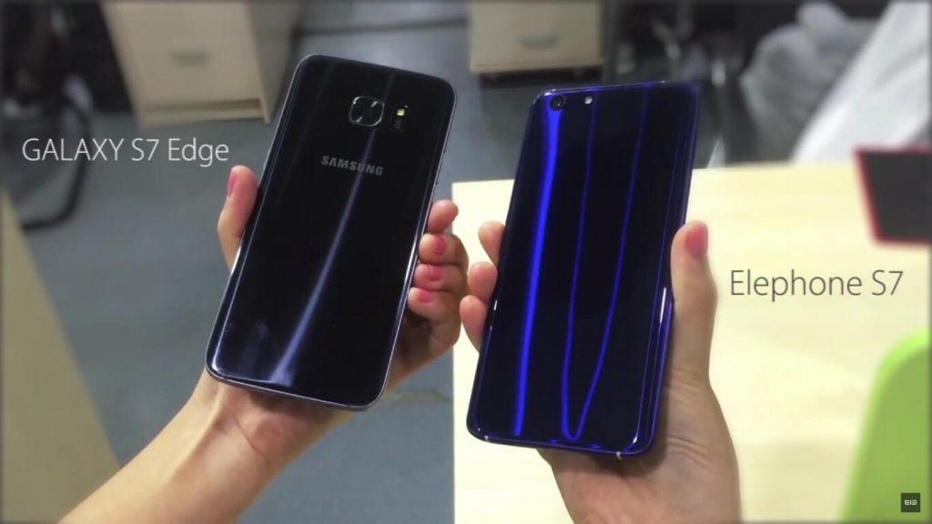 Elephone S7 comparación
