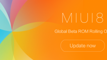 MIUI 8 ROM 6.12.8