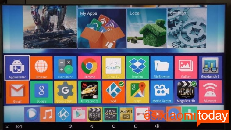 MXQ Pro TV Box App