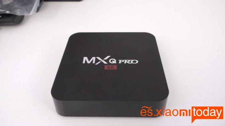 MXQ Pro TV Box Modelo