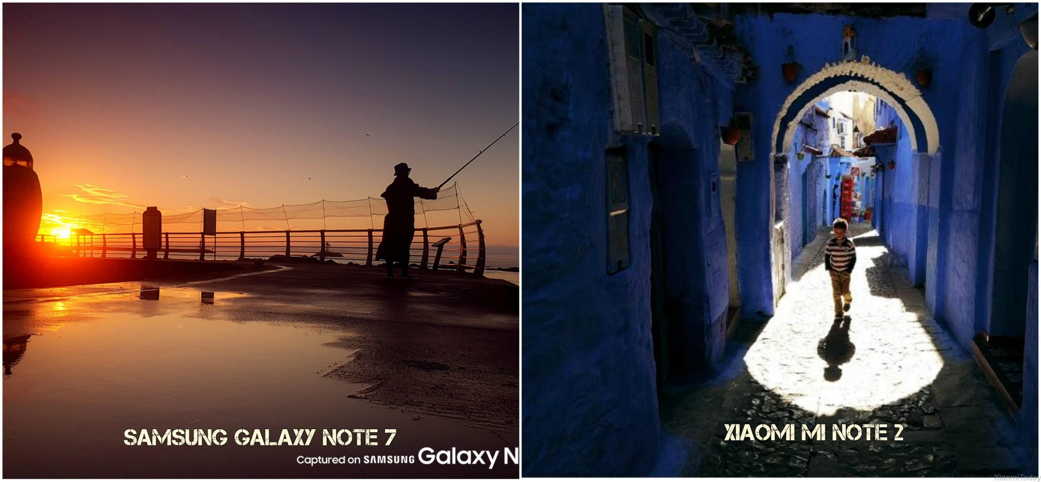 Samsung Galaxy Note 7 VS Xiaomi Mi Note 2 camara