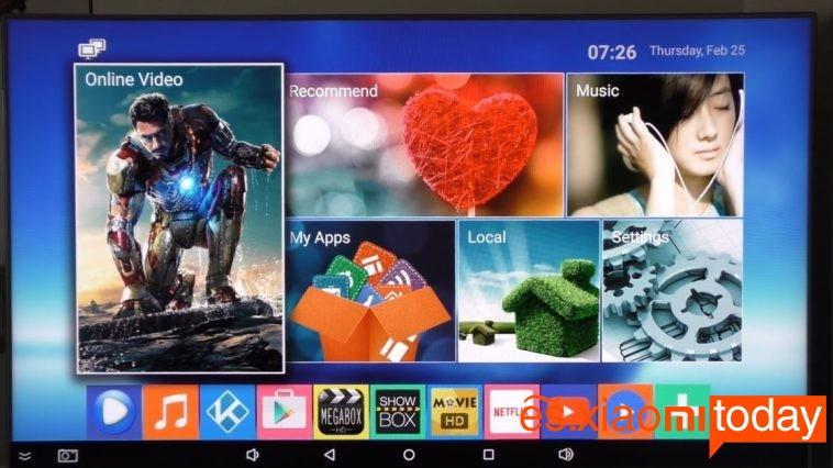 MXQ Pro TV Box Software 2