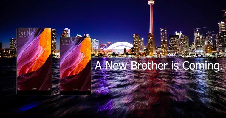 Póster falso del Xiaomi Mi Mix Nano