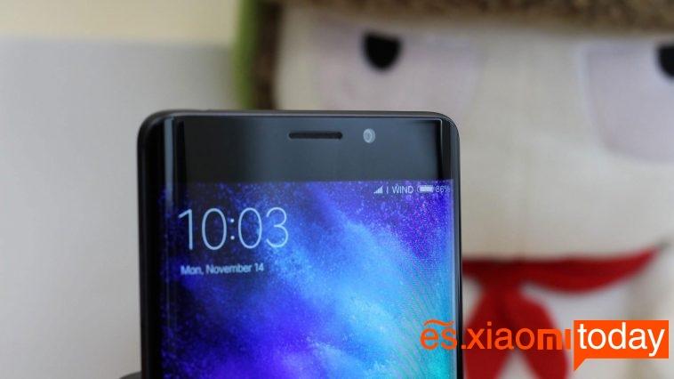 Xiaomi Mi Note 2: Diseño exquisito y pantalla curva dual