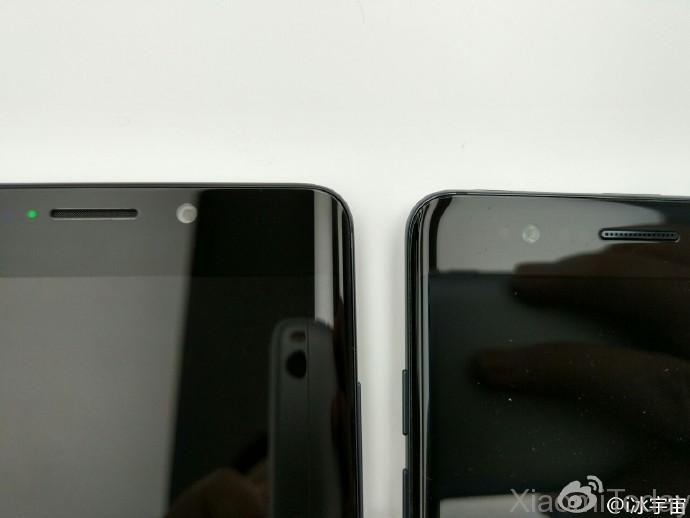 Samsung Galaxy Note 7 VS Xiaomi Mi Note 2 pantalla 2