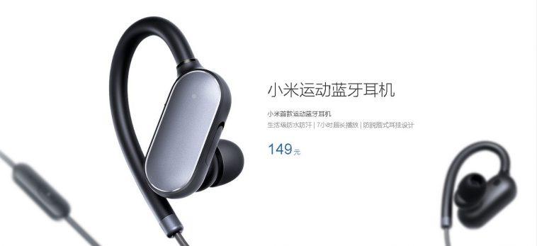 Xiaomi Mi Sports diseño