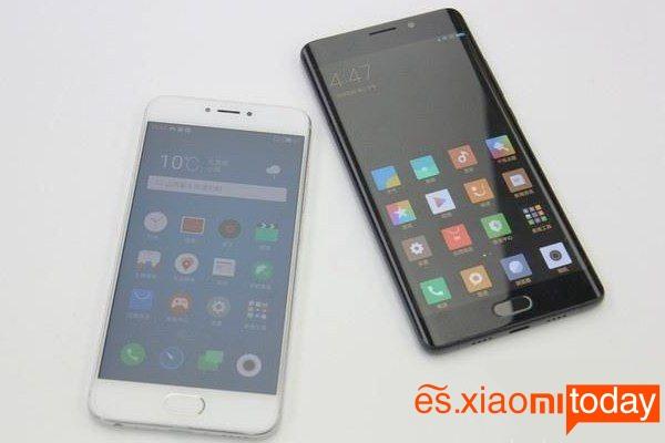Xiaomi Mi Note 2 vs Meizu Pro 6S
