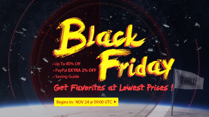 Gearbest Black Friday Promo