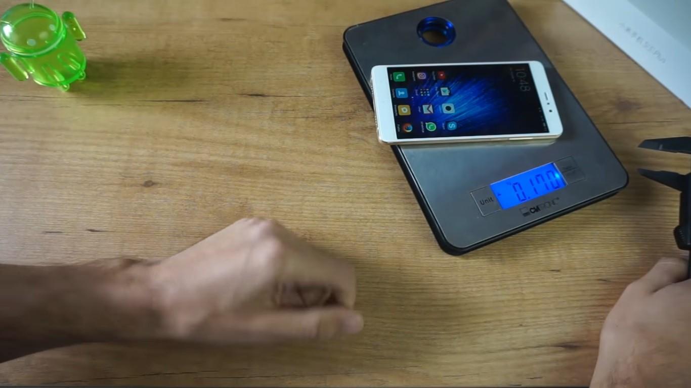 Xiaomi Mi 5S Plus peso