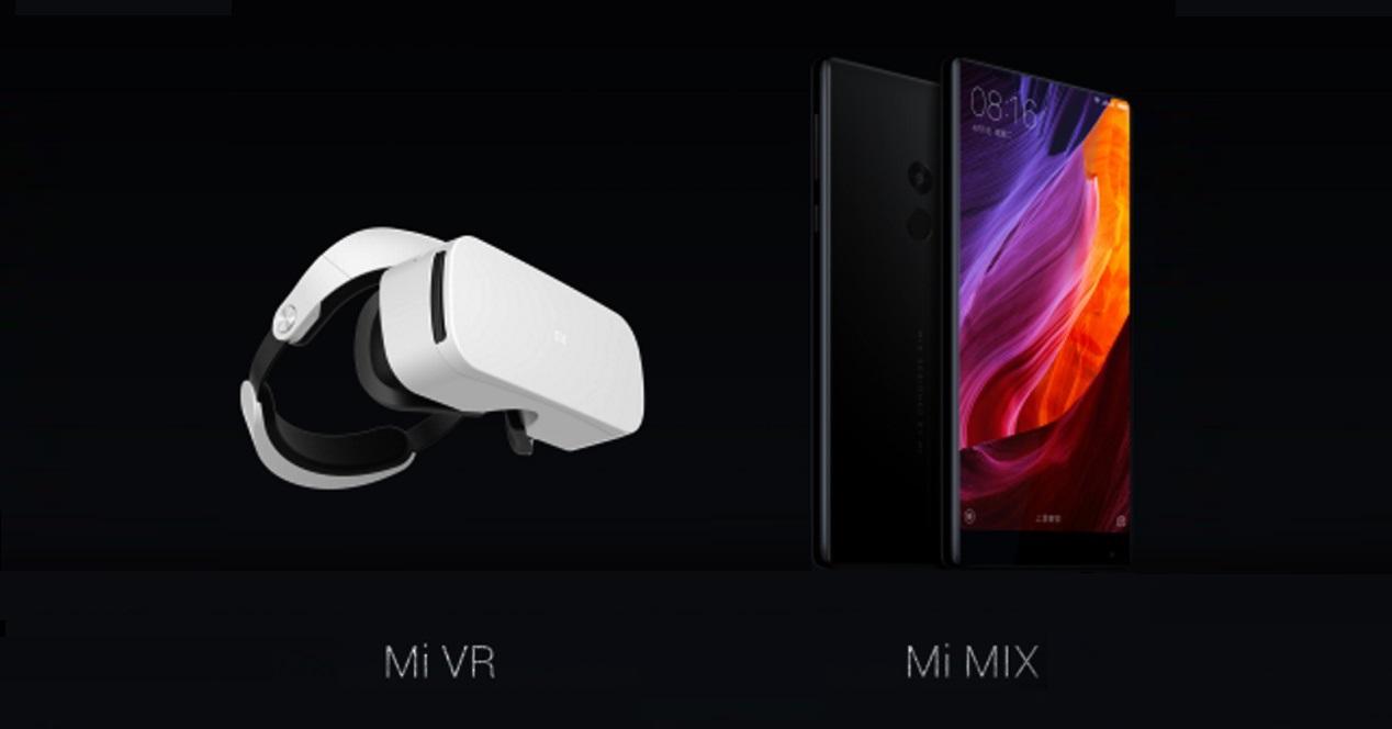Xiaomi Mi VR y Xiaomi Mi Mix destacada