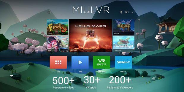Xiaomi Mi VR y Xiaomi Mi Mix store