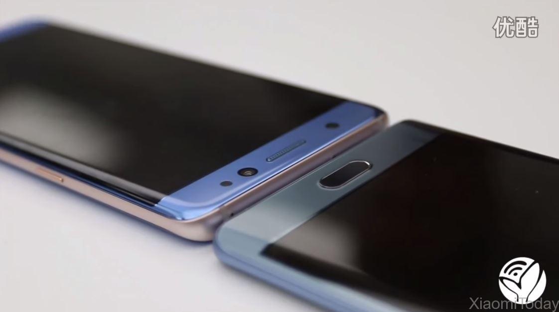 Samsung Galaxy Note 7 VS Xiaomi Mi Note 2 5