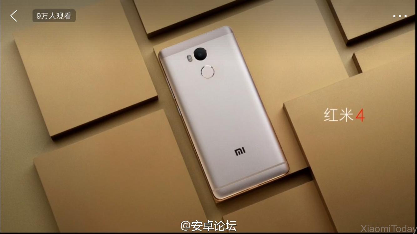 Xiaomi Redmi 4 diseño