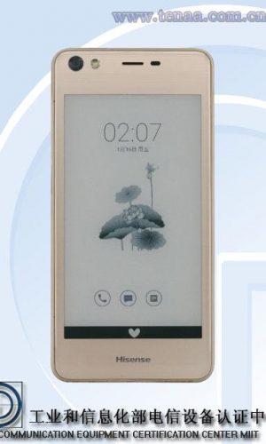 Smartphone Hisense Pantalla trasera