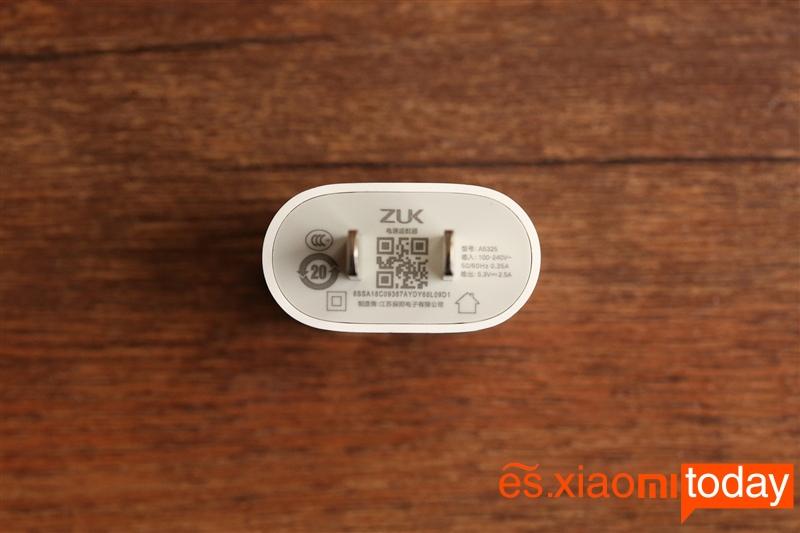 Lenovo Zuk Edge - conector