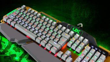 accesorios de pc ux-teclado