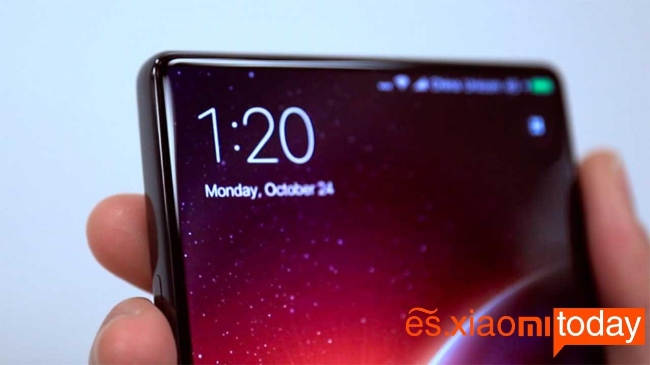 Xiaomi Mi Mix pantalla sin biseles