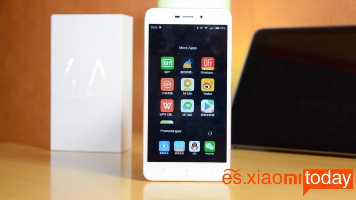 Xiaomi Redmi 4A UI