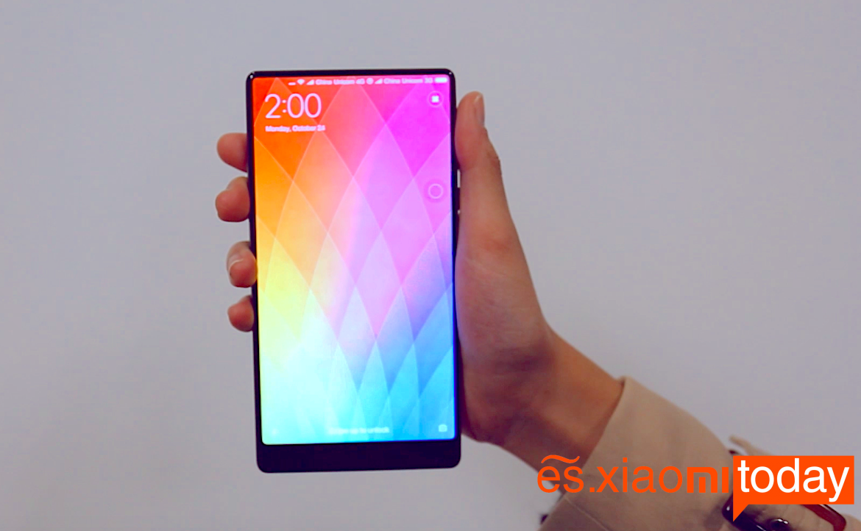 Xiaomi Mi Mix pantalla