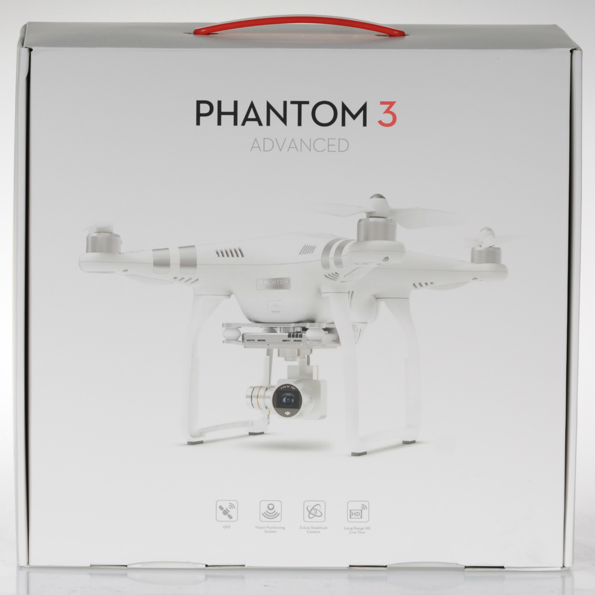 DJI Phantom 3 Advance caja