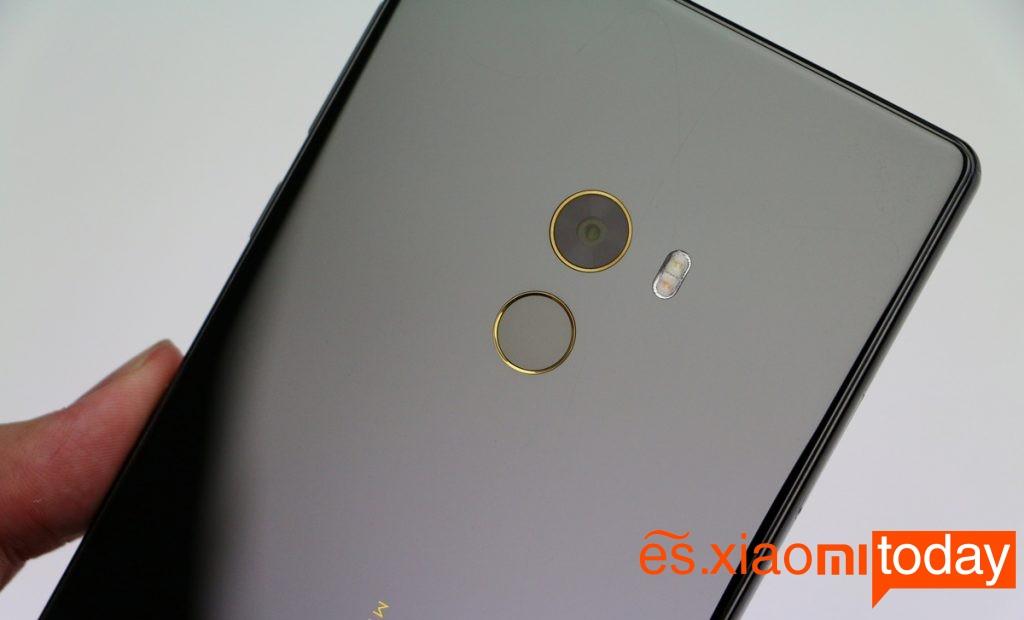 Xiaomi Mi Mix cubierta posterior