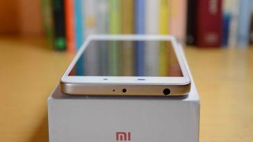 Xiaomi Redmi 4A arriba