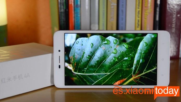 Xiaomi Redmi 4A pantalla